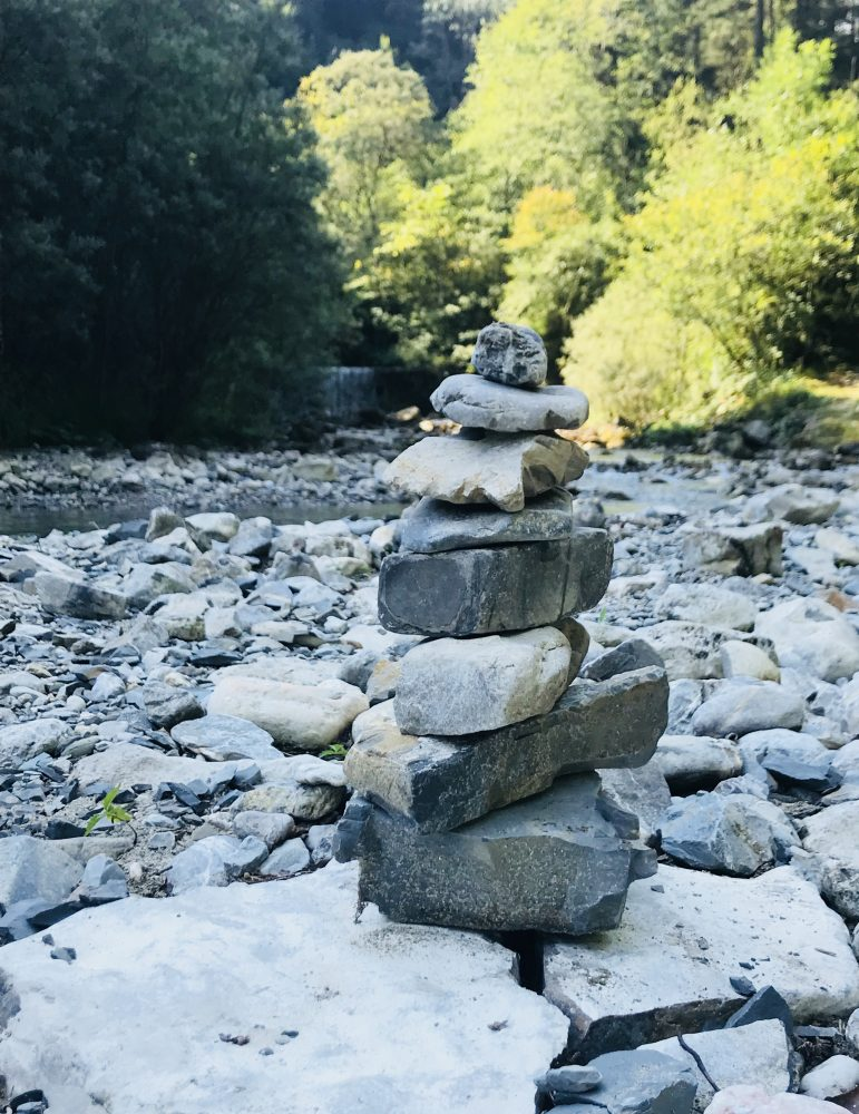 Zensteine Fluss